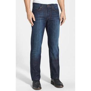 Joe's Jeans Dark Wash Mid Ris Straight Denim Rebel